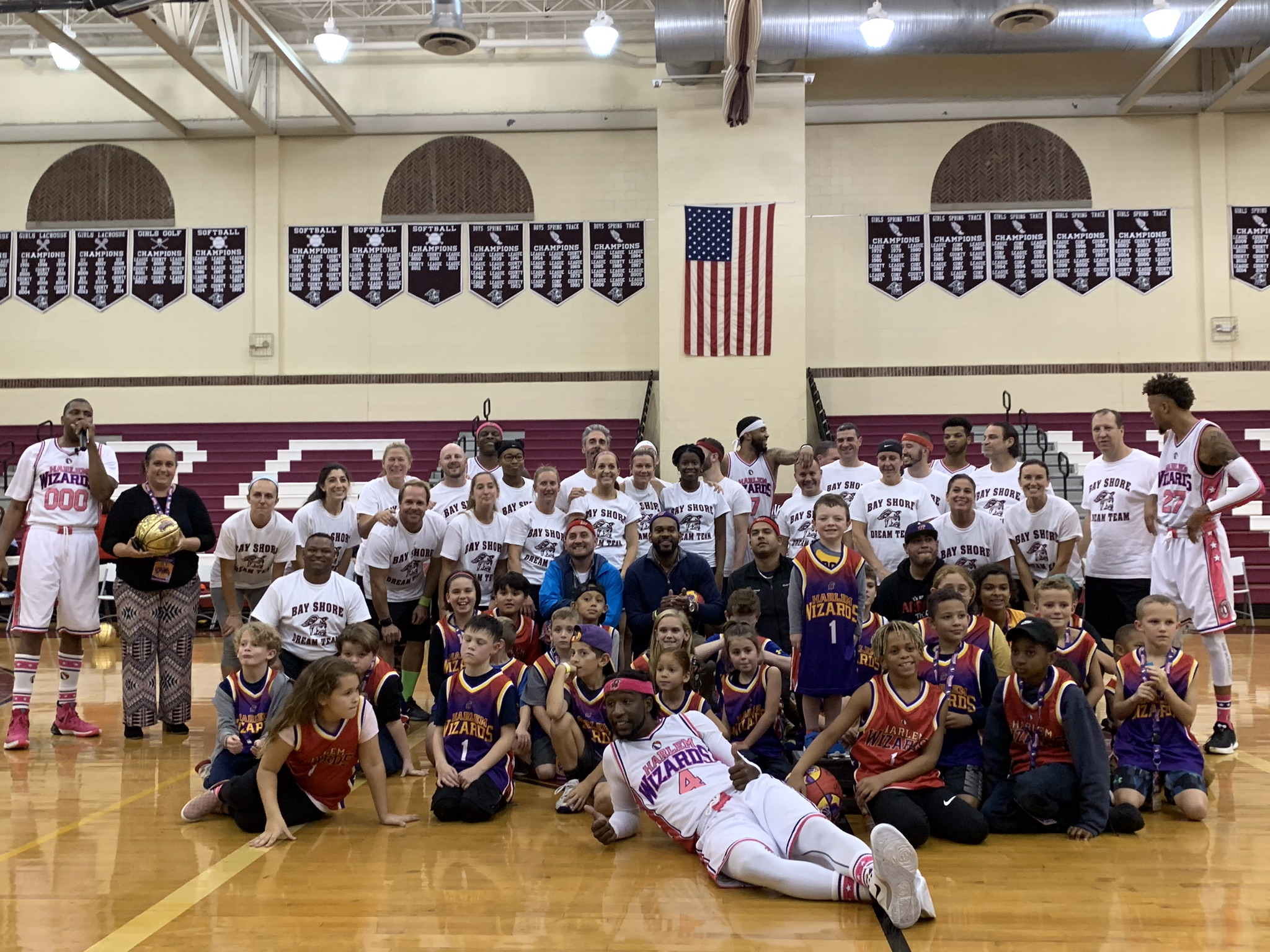Harlem Wizards vs. Bay Shore Dream Team 10/30/19